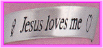 Jesus Loves Me stamp by katamariluv