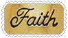 Faith stamp by katamariluv