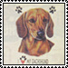 Dachshund Lovers' stamp by katamariluv