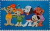 Classic Pound Puppies stamp by katamariluv