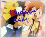 I Support Ash and Misty Love stamp by katamariluv