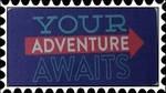 Your Adventure Awaits stamp by katamariluv