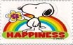 Happiness stamp by katamariluv