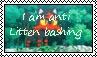 Anti Litten Bashing stamp by katamariluv