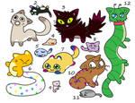 Kooky Cat OTA(8/12 open) by katamariluv