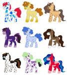 NYP Stallions(6/9 open) by katamariluv