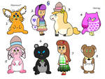 NYP Emoji Adopts(4/8 open) by katamariluv