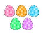 NYP Retro Polkadot Eggs(Orange and green open) by katamariluv