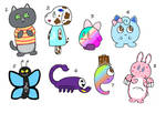 NYP Emoji Adopts(Suezo open) by katamariluv