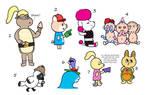 NYP Emoji Pals(5/8 open) by katamariluv