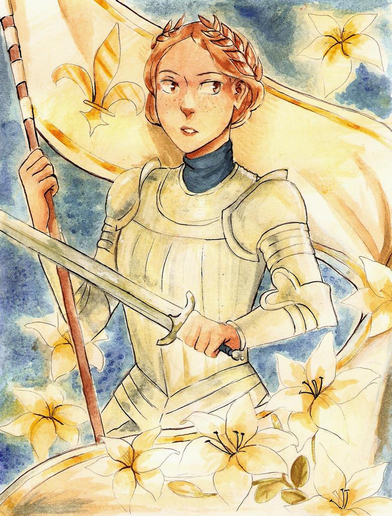 Joan of Arc by Coralic on DeviantArt