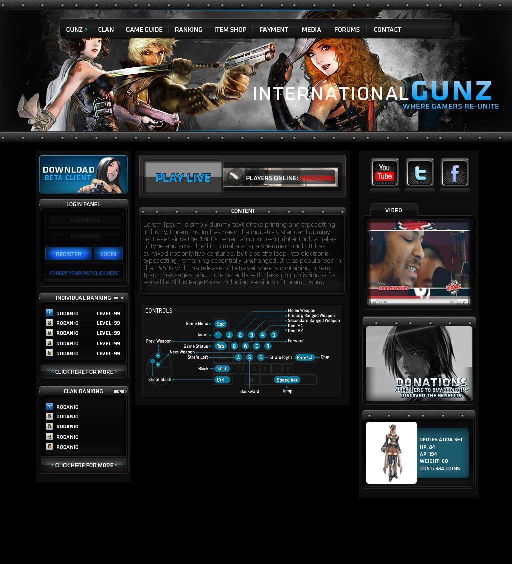 [Proyect]Web Gunz V1