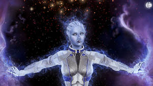 Liara close-up by Milreem