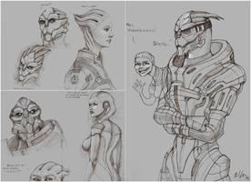 Sketchbook: SPIRITS! by Milreem