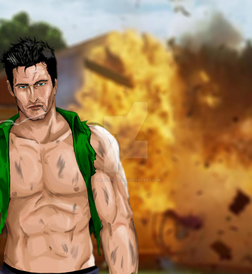 Cool guys don't look at explosions :P by EmersonOvens on ...