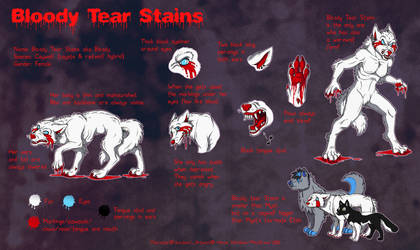 Bloody Tear Stains ref sheet