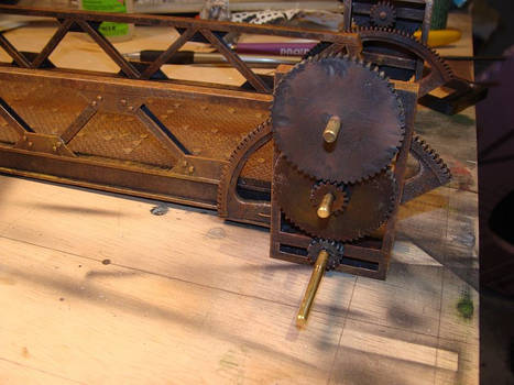 Steampunk Drawbridge WIP3
