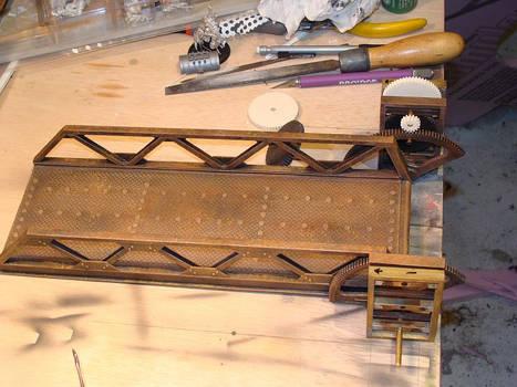 Steampunk Drawbridge WIP4