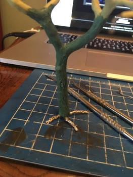 Work In Progress Tree Trunk