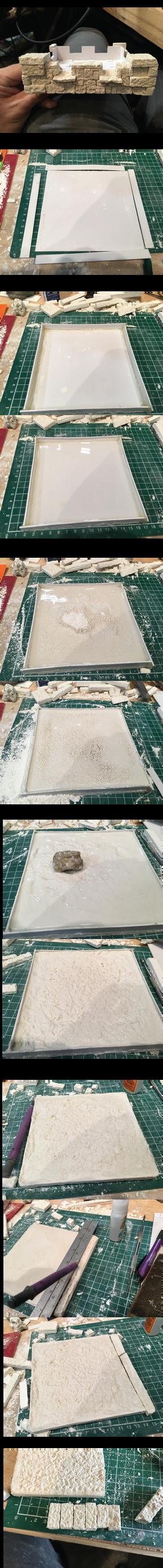 Tutorial on making Plaster of Paris Blocks