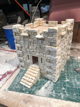 Caribbean Fort for Blood and Plunder the game.