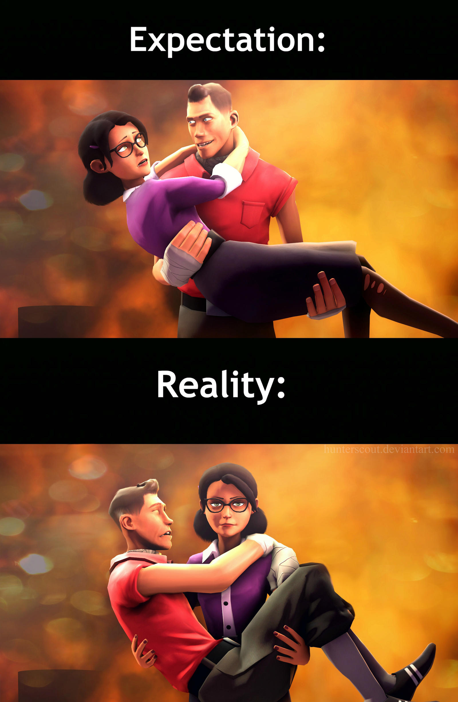 Saving Miss Pauling by hunterscout