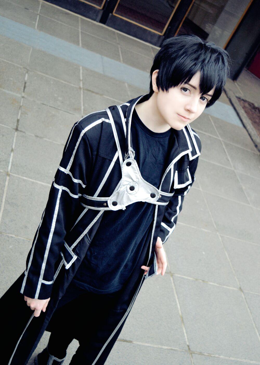 kirito cosplay by downfall-cosplay on DeviantArt