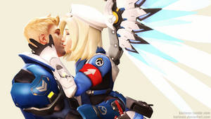 OW | Reunion | Mercy76 by karinscr