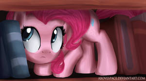 Pinkie on the shelf