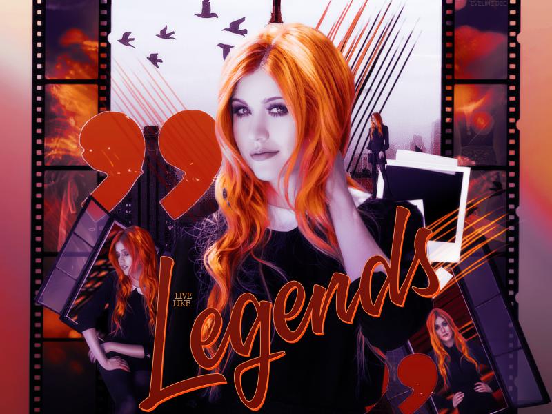 Header Legends by EvelineDee1232