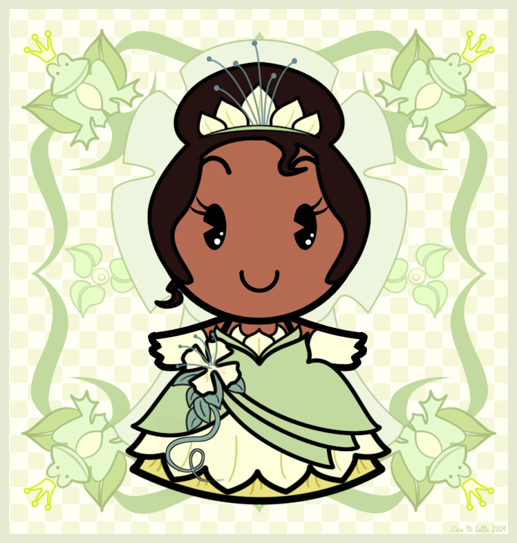 Disney Cuties Tiana By Ciro1984 On Deviantart Disney Cuties Princess Printable