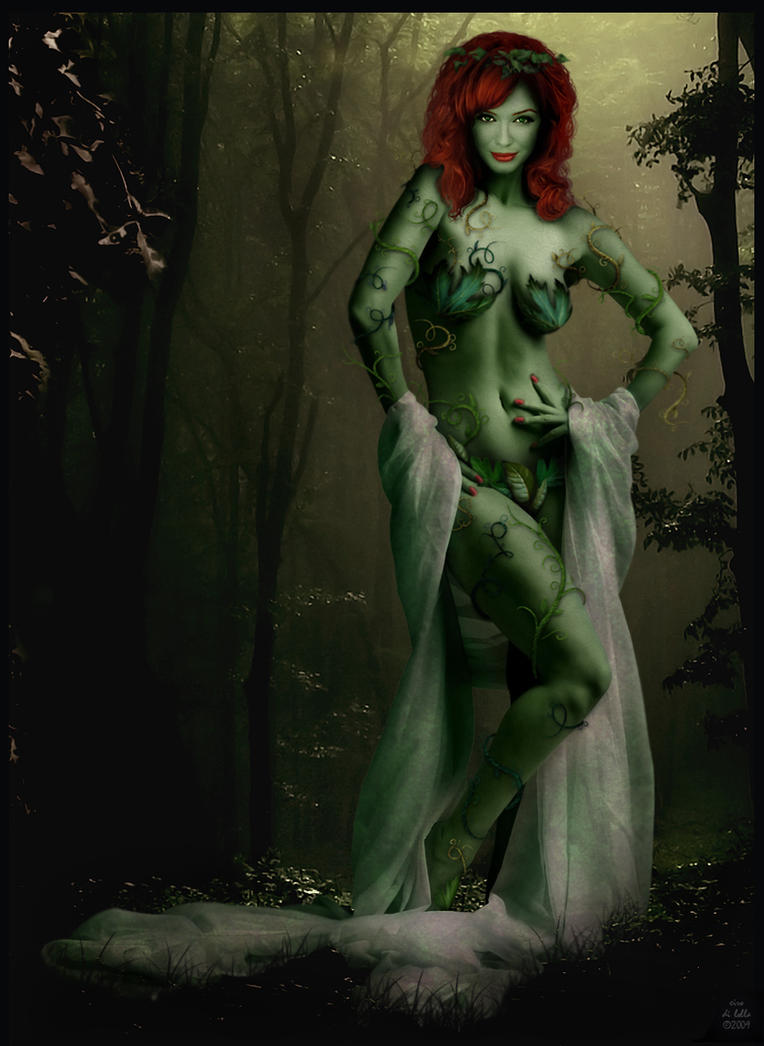 Xtina Hendricks as Poison Ivy by Ciro1984