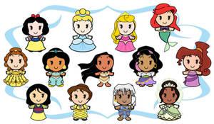 Disney Cuties - Heroines