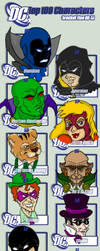 DC Top100 Characters Bracket 5 by Ciro1984