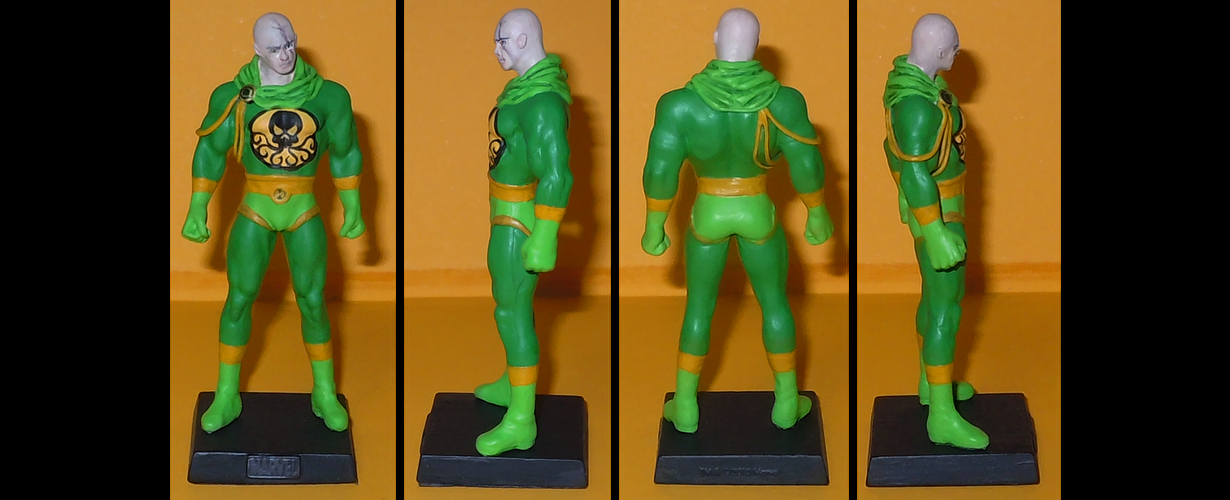 Baron Strucker custom figurine by Ciro1984