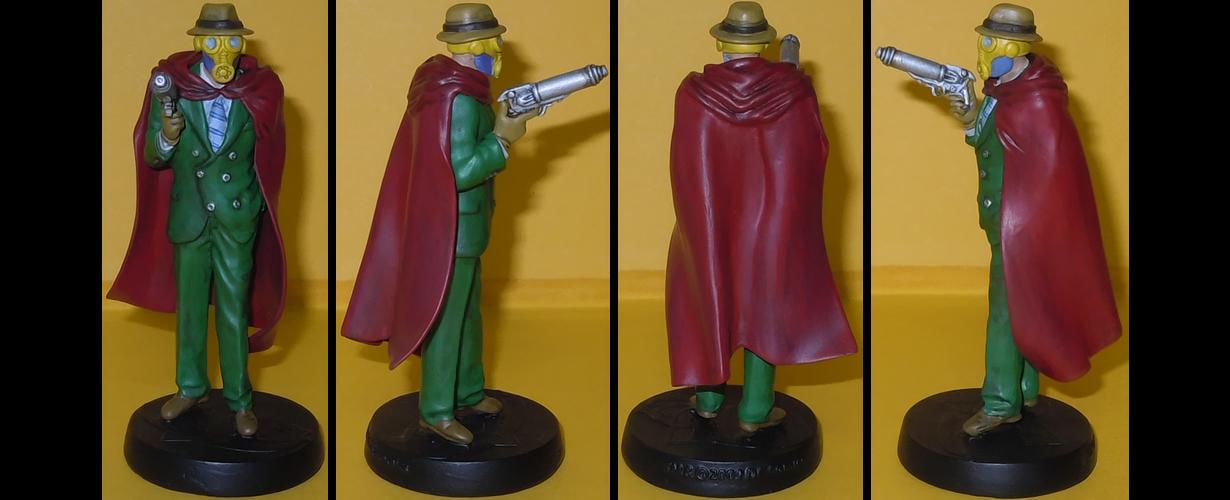 Sandman Wesley Dodds custom figurine by Ciro1984