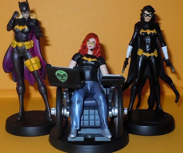 Team Batgirl by Ciro1984