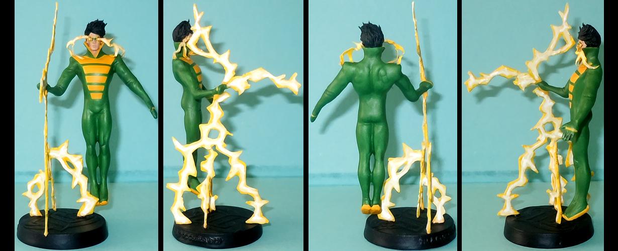 Weather Wizard custom figurine by Ciro1984