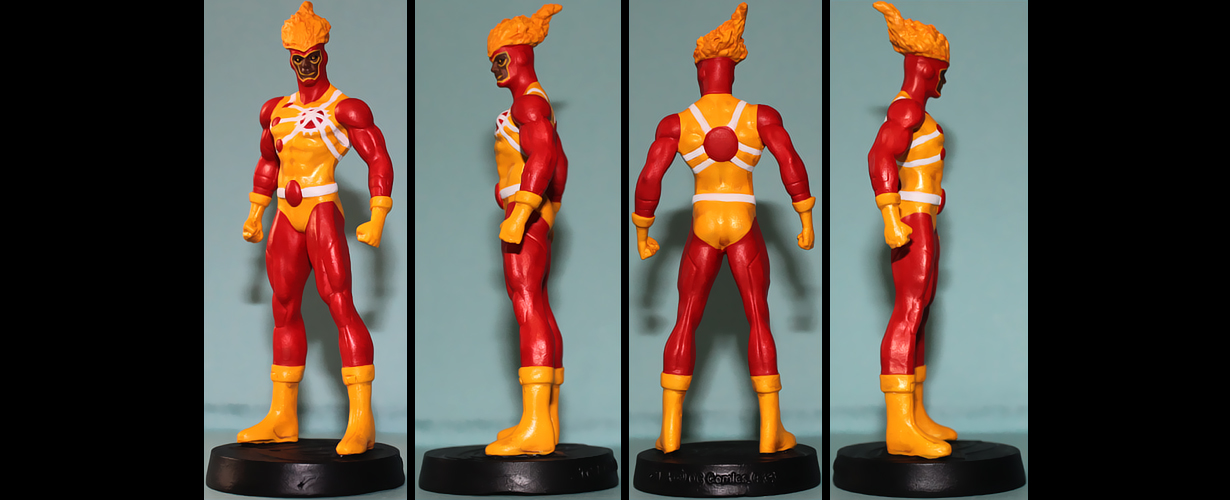 Firestorm Jason Rusch custom figurine by Ciro1984