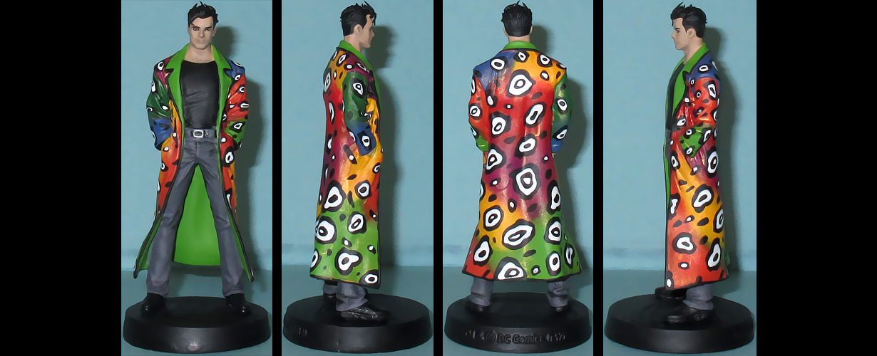 Shade the Changing Man custom figurine by Ciro1984
