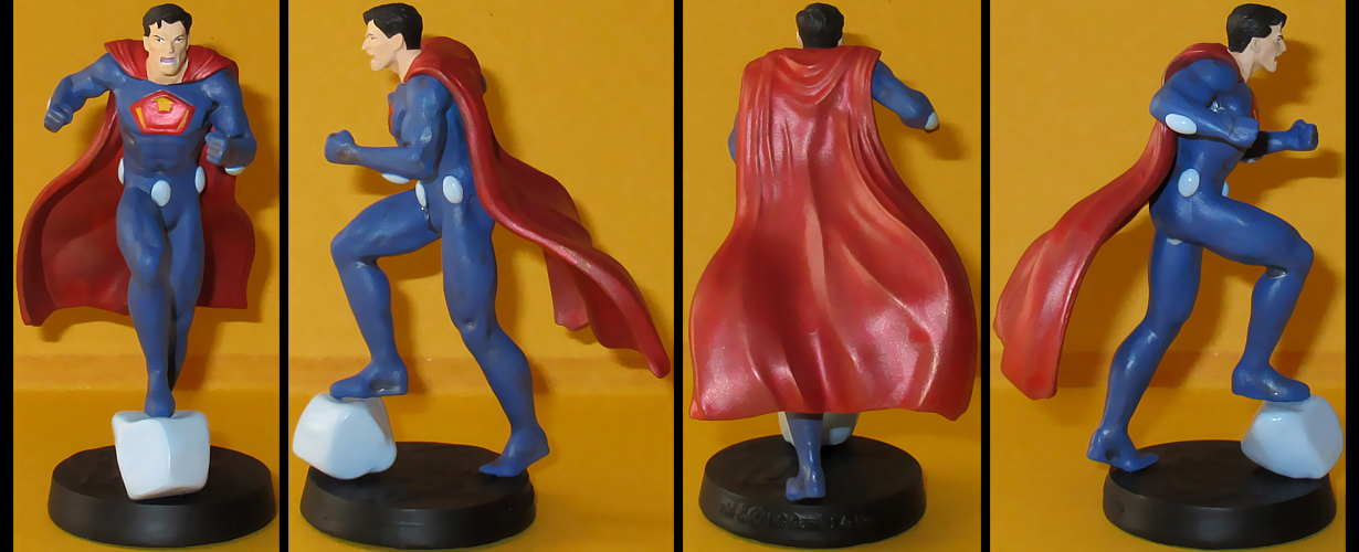 Ultraman custom figurine by Ciro1984