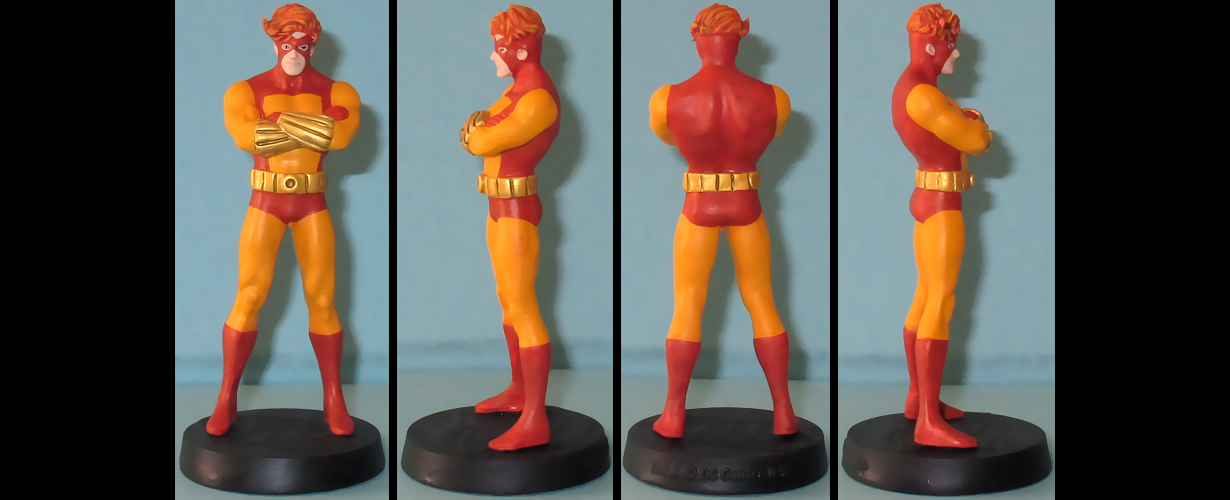 Geo-Force custom figurine by Ciro1984
