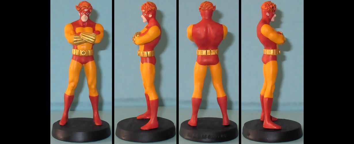 Geo-Force custom figurine by Ciro1984