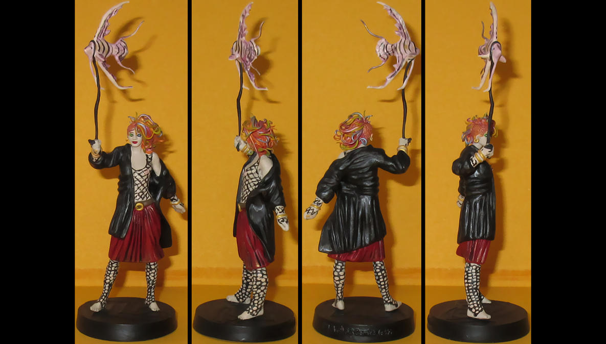 Delirium of the Endless custom figurine by Ciro1984