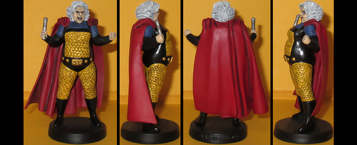 Granny Goodness custom figurine by Ciro1984