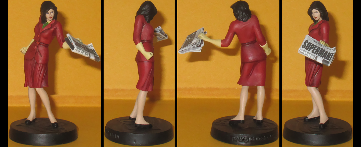 Lois Lane custom figurine by Ciro1984