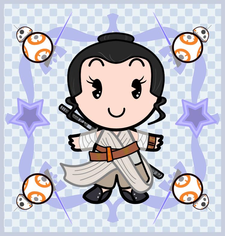 Rey Disney cutie style by Ciro1984