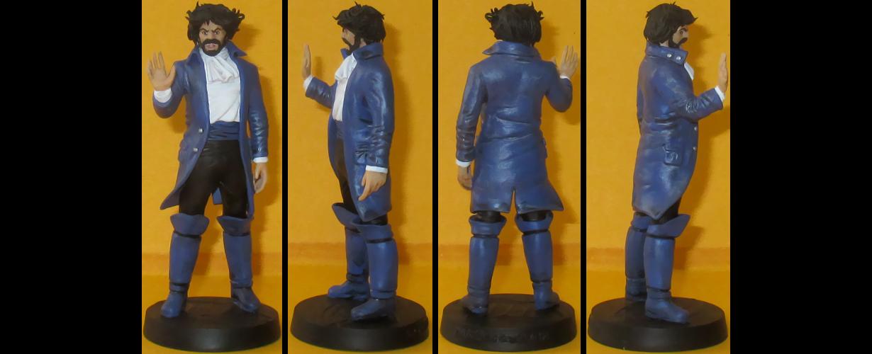 Vandal Savage custom figurine by Ciro1984