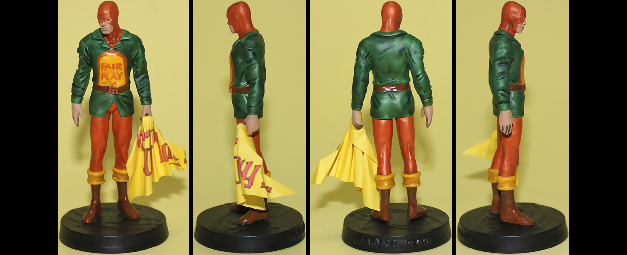 Mr. Terrific custom figurine by Ciro1984