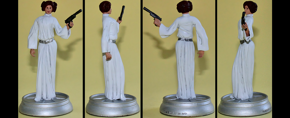 Leia custom figurine by Ciro1984